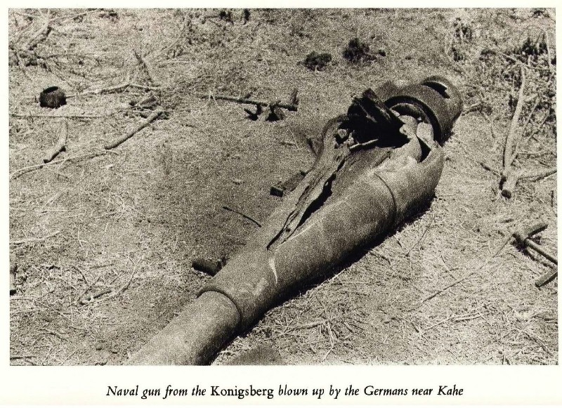 Missing Gun from the SMS Königsberg - Axis History Forum